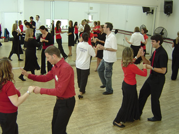 Corporate Dance providing a salsa class